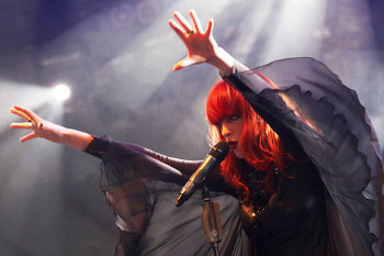 Florence's style and sound is inspired by the Renaissance.