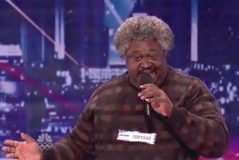 Ulysses on America's Got Talent 2012