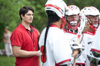 Brandon coaches the team