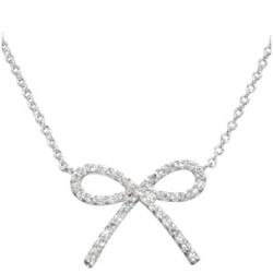 Paris Hilton Inspired Bow Necklace