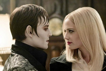 Barnabas with witchy Angelique