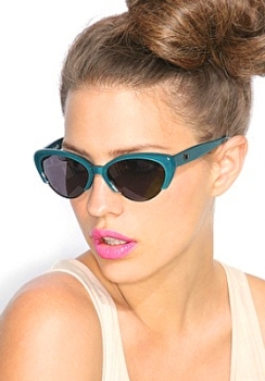Cat's eye frames look great on just about anyone