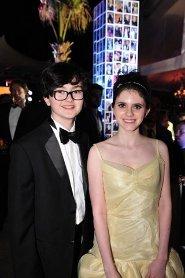 Jared and Kara at the premiere