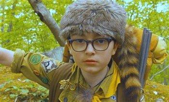 """Sam """"scouts"""" a trail"""