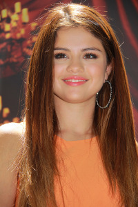 Selena at the event