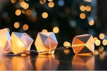 Origami Twinkle Lights