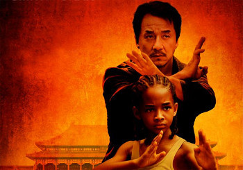 Jaden Smith and Jackie Chan star in The Karate Kid
