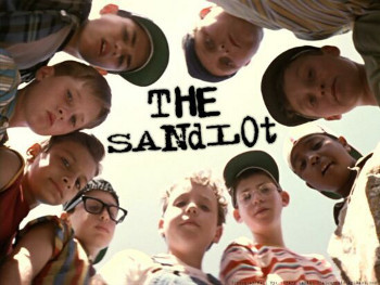 The Sandlot is all about besties and baseball