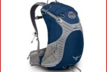 The Osprey Stratos day pack gives you easy access and lightweight comfort