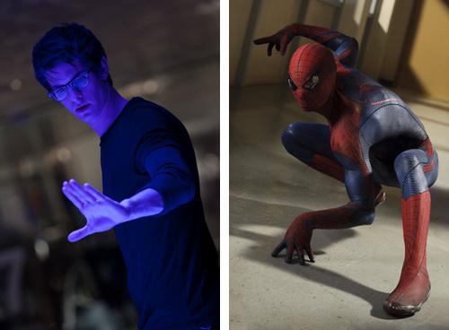 Andrew Garfield as Peter Parker / Spider-Man