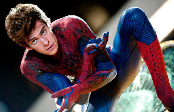 Andrew plays Peter Parker (aka Spider-Man) in the new movie