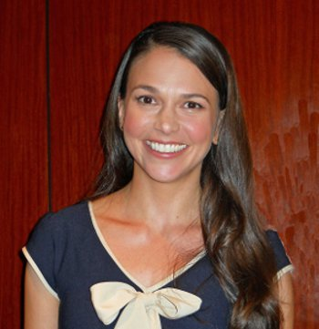 Sutton Foster at our interview