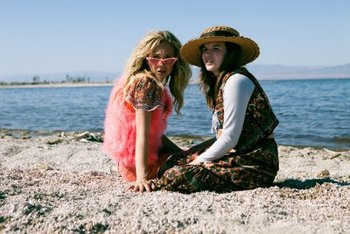 The girls at the Salton Sea
