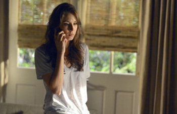 After reuniting with Toby, Spencer calls the liars