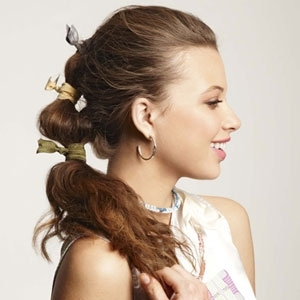 Not just your everyday ponytail