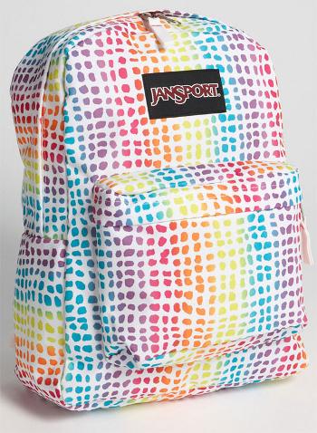 Rainbow JanSport Backpack