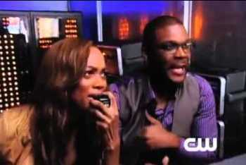 Tyra and Tyler Perry