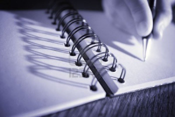 Writing in a diary can be a great way to deal with stress