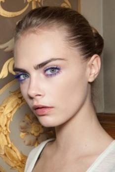 Stella McCartney's Fall 2012 vision of multi-toned eyes