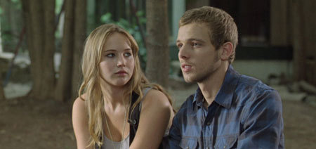 Jennifer Lawrence as Elissa and Max Thieriot as Ryan