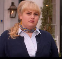 Rebel as Fat Amy