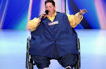 Freddie lost 400 pounds after almost dying