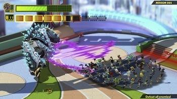 Wonderful 101 has some epic battles.