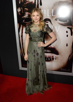 Chloë on the red carpet