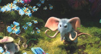 A tiny mousephant