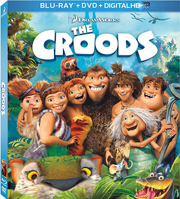 The Croods Blu-ray   DVD cover
