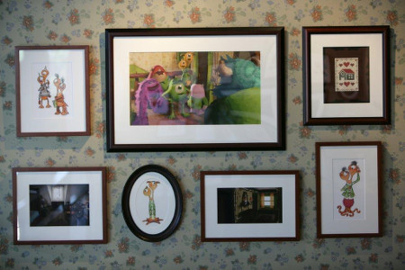 Oozma Kappa living room wall art