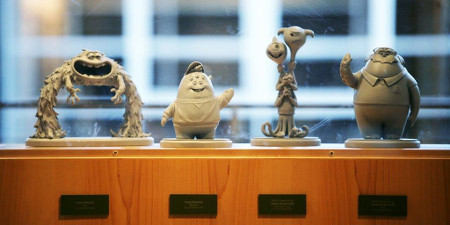 Oozma Kappa maquettes of the frat bros