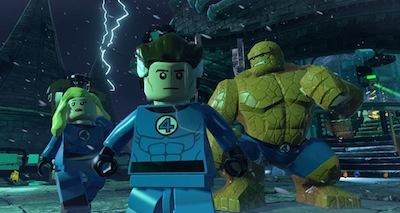 The Fantastic Four...minus Human Torch.