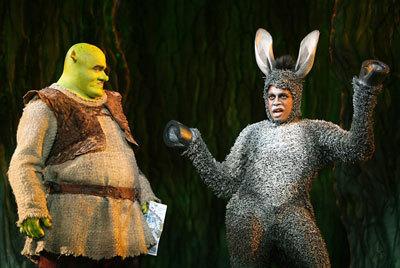 Shrek with Donkey