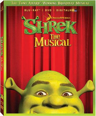 Shrek The Musical Blu-ray