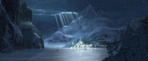 The frozen kingdom of Arendelle