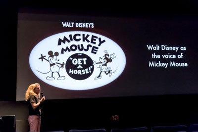 Producer Dorothy McKim talks about Get a Horse