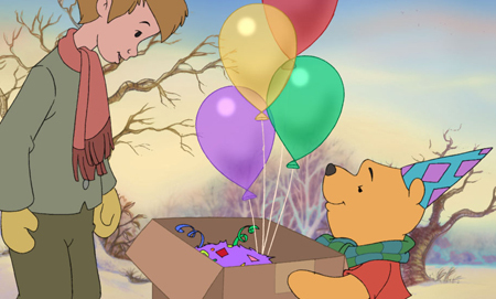 Christopher Robin and Winnie