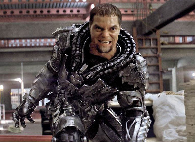 General Zod on Earth