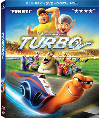 Turbo Blu-ray Cover