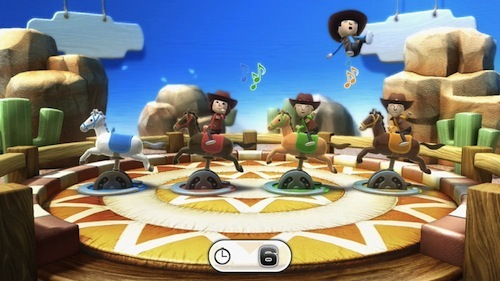 Never a lack of smiles when playing Wii Party U.