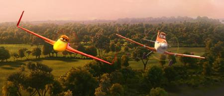 Ishani flying with Dusty
