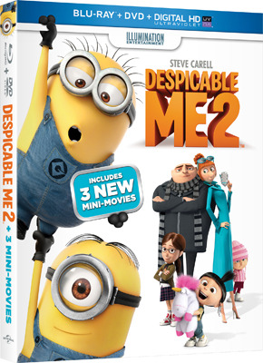 Despicable Me 2 Blu-ray   DVD Cover