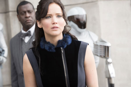Katniss on the Victors Tour