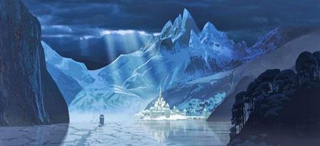Frozen land of Arendelle