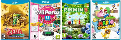 Nintendo WiiU Games