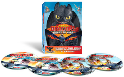 Dragons: Riders of the Berk Nightfury Giftset