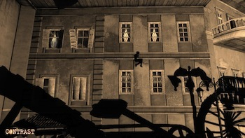 Manipulate the shadows for platforming.