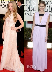 The Fashion Police agree: the two dresses that need to get pulled over and ticketed...
