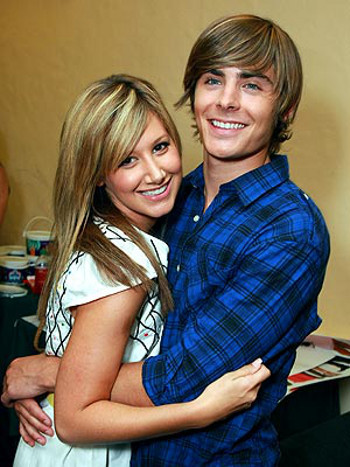 Zac Efron and Ashley Tisdale are platonic pals